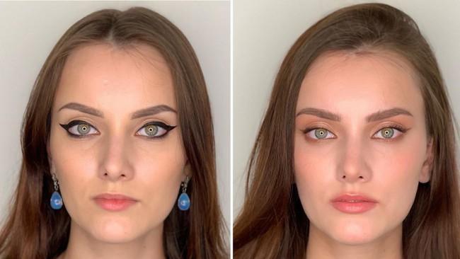 Уау! Преди и след грим: невероятната трансформация на едно момиче (снимки)