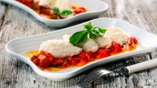Малфати с доматен сос