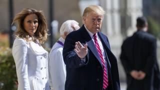 Мелания Тръмп възмути Америка с тази скъпа рокля на Александър Маккуин