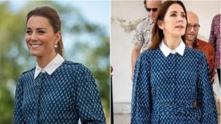 Моден сблъсък: Кейт Мидълтън срещу Мери Датска