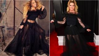Моден сблъсък: Марая Кери срещу Шаная Туейн