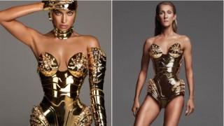 Моден сблъсък: Ирина Шейк срещу Селин Дион