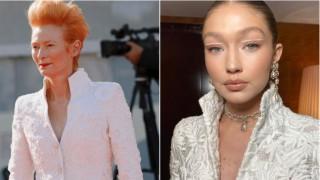 Моден сблъсък: Тилда Суинтън срещу Джиджи Хадид