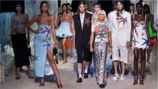 Изгубената Атлантида в колекция Versace пролет-лято 2021