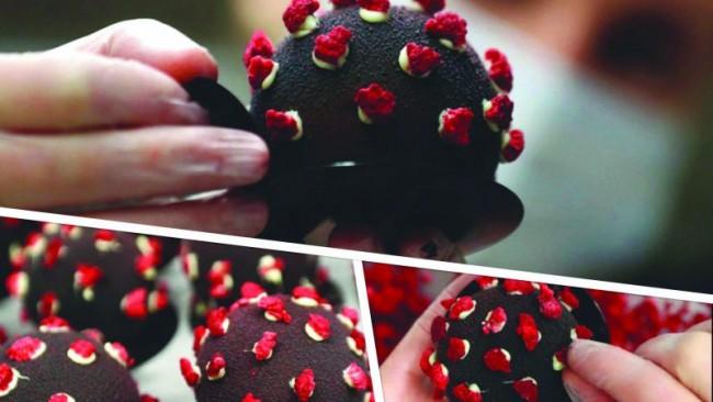 Ковид десерт се превърна в разтърсващ хит насред пандемията в Прага