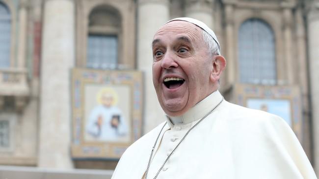 Папа Франциск подкрепи браковете между гей двойки