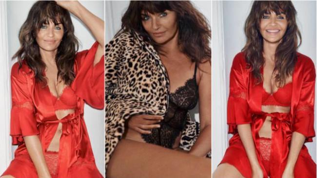 Неостаряващата Хелена Кристенсен в коледната кампания на Victoria's Secret