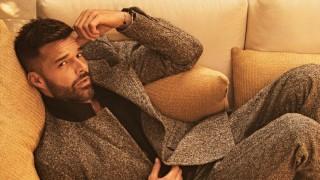 Феновете на Рики Мартин са в шок: Певецът дебютира руса брада