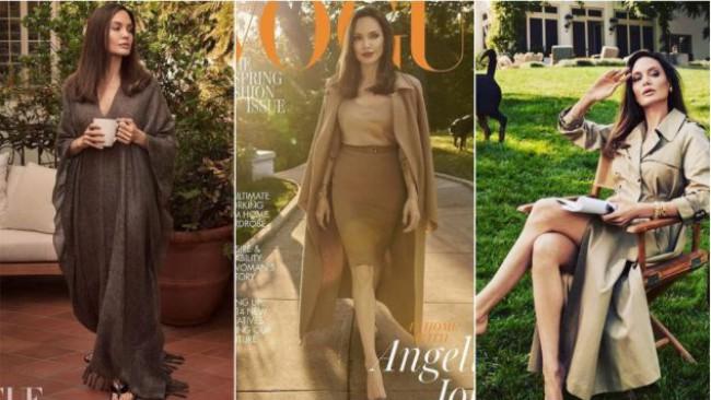 Красива, стилна и откровена: Анджелина Джоли пред британския Vogue