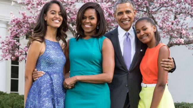 Малия - дъщерята на Обама влиза в Холивуд, води гаджето си да живее с мама и тате