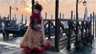 Венеция отново е карнавал, този път дигитален