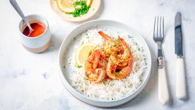 Да сготвим с PEPCO: Пикантни скариди с бял ориз