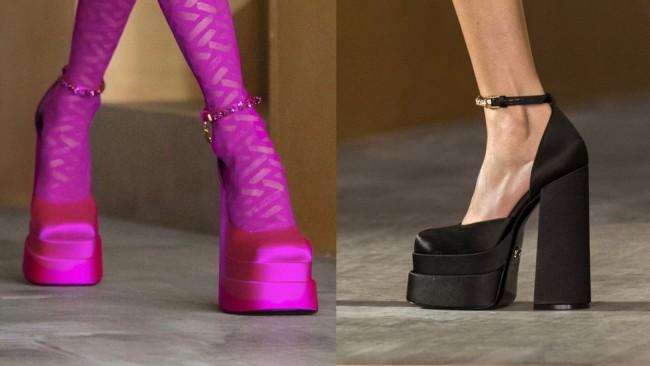 Неочаквано завръщане: обувките на платформа отново на мода