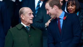 Принц Уилям почете дядо си с непоказвани досега семейни кадри