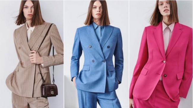 Мъжкият костюм - класиката в женския пролетен гардероб