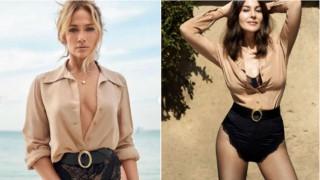 Моден сблъсък: Дженифър Лопес срещу Моника Белучи