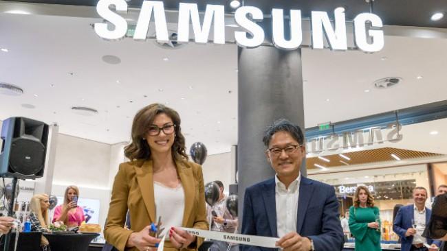 Втори Samsung Experience Store отвори врати в Paradise Center