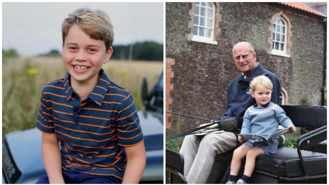 Кейт снима: Принц Джордж стана на 8! Вижте скритото му послание към покойния принц Филип