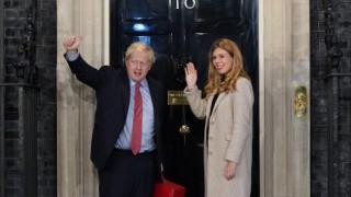 Борис Джонсън и съпругата му Кари очакват второ дете