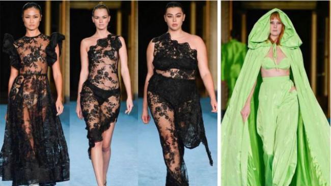 Седмицата на модата в Ню Йорк показа пухкави модели (снимки)