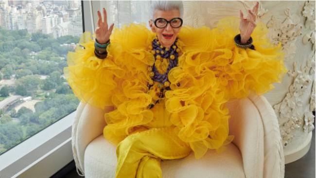 Мода за напреднали: Iris Apfel в една неочаквана модна колаборация