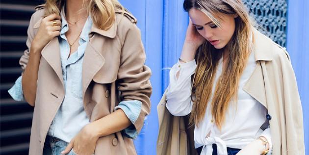Обичате ли да носите тренчкот през есента?
