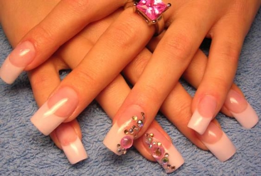 2%2859%29 Elegant Nail art for a wedding