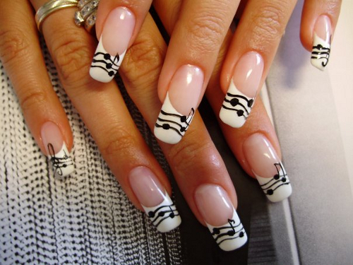 Nail%20Art%20Designs%20Photo 22 Colored French Manicure