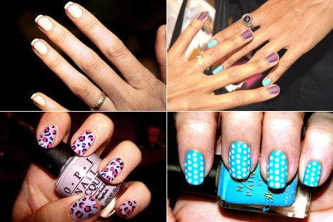 art0748 4 Stylish manicure spring summer 2011 nails with ornaments nail art ideas nail art ideas for manicure fashionable nails fashion manicure decorative manicure