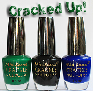 crackle nail polish mia secret Super Nails: Husked varnish is fashionable