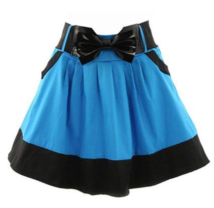 Голубая юбка с доставкой