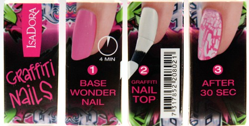 grafitti nails instructions 104220162 Lacquer, which will decorate your nails alone!