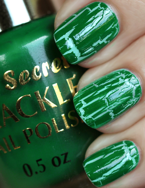 green crackle nail polish mia secret Super Nails: Husked varnish is fashionable