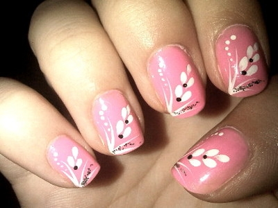 nail art 10 Soft nail art for every day