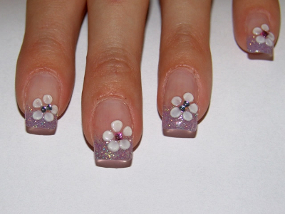 nail designs8 Soft nail art for every day