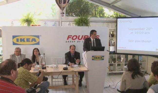 Пресконференция на IKEA