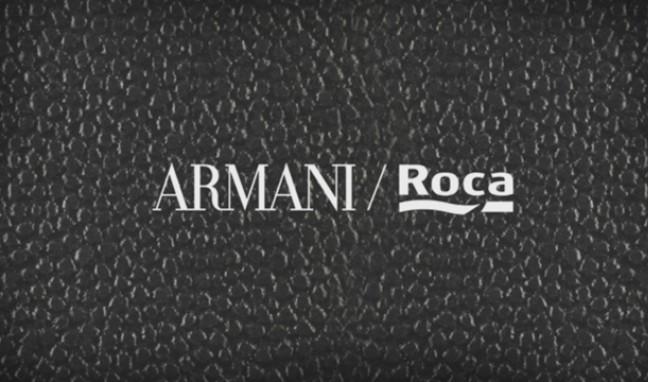Изключителната колекция за баня Armani / Roca вече е в България