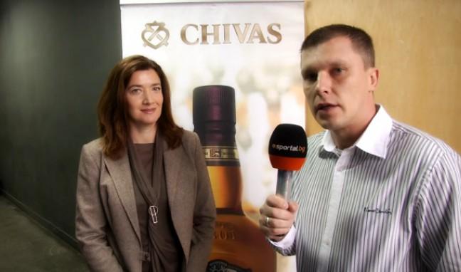 Мирослава Симова: С проекта на Chivas Regal