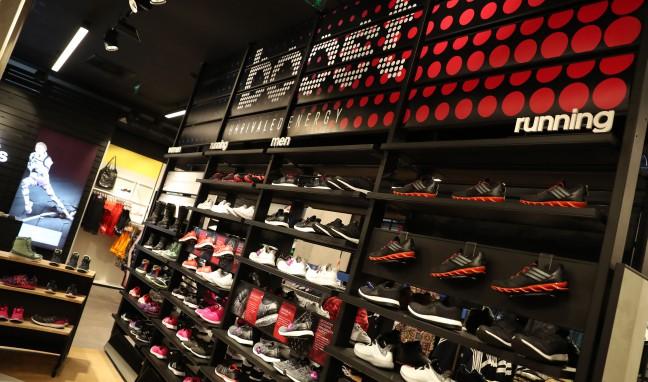 Adidas с обновен магазин в София