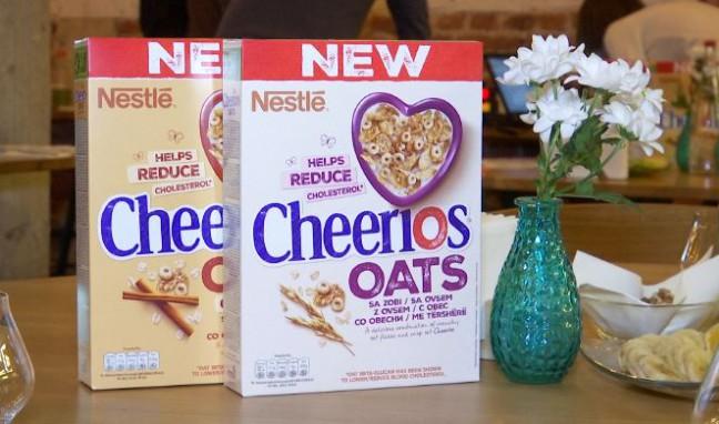 Новият Cheerios OATS с овес се грижи за намаляването на холестерола