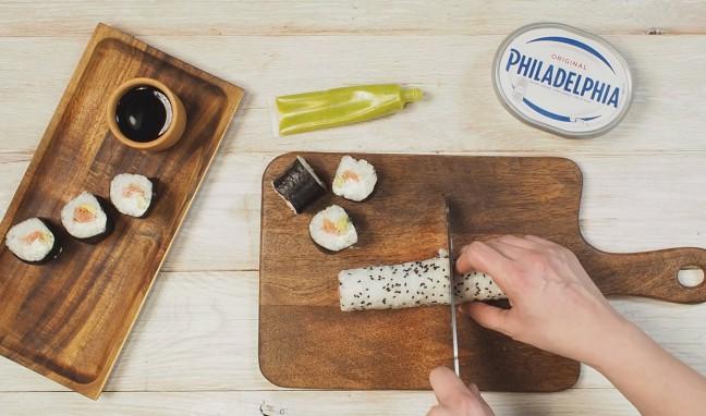 Рецепта за суши  Филаделфия