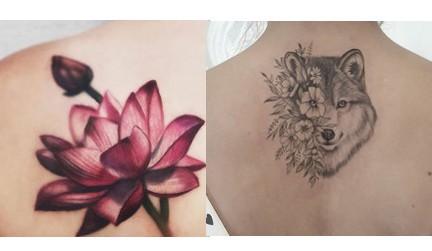 Цветна или черно-бяла татуировка