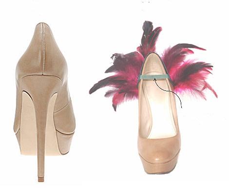 Ayakkabı topukları için çoraplar
