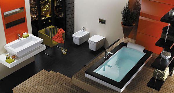 Всичко за банята-съвети и идеи! Modern-bathroom-idea-jacuzzi-aura-bath