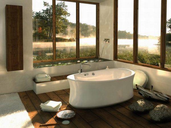 Всичко за банята-съвети и идеи! Traditional-beautiful-bathroom-design-ideas-white